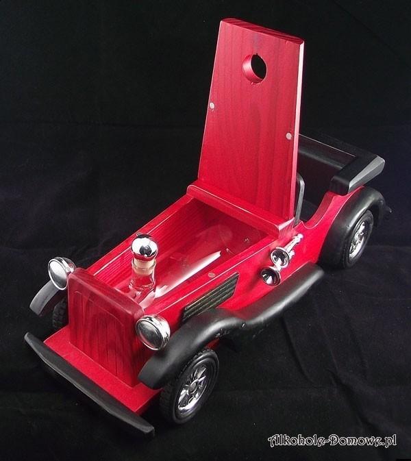 Samochód model na trunek prezent