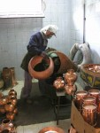 wytwarzanie alembika miedzianego