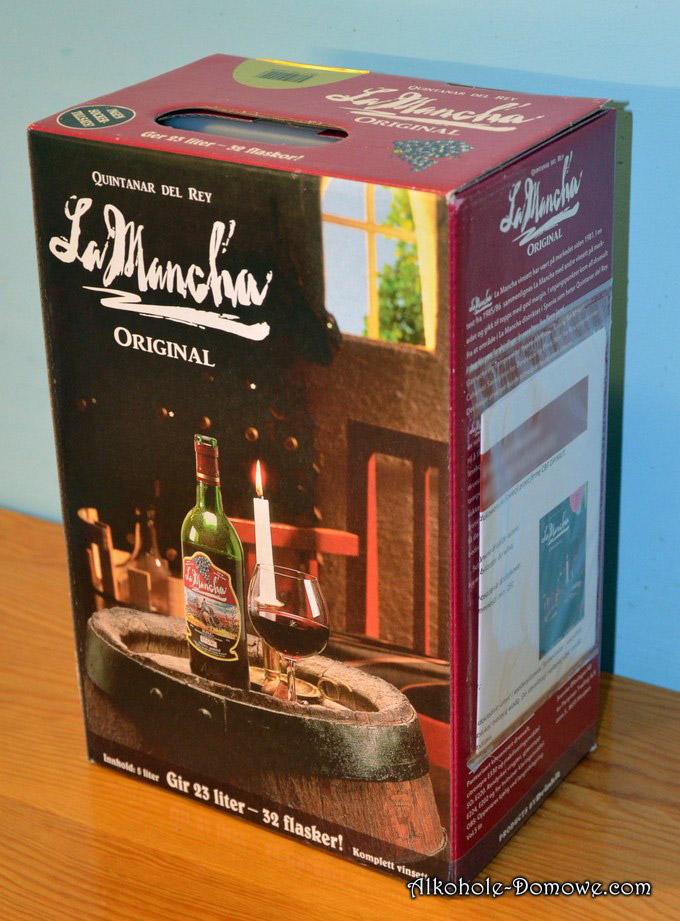 wino z koncentratu Rioja