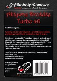 Aktywne Drożdże Turbo 48