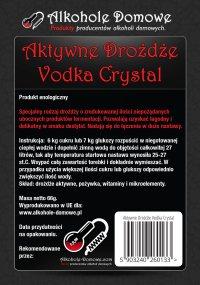 Aktywne Drożdże Vodka Crystal