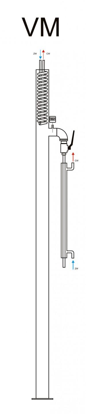 Kolumna rektyfikacyjna typu VM
