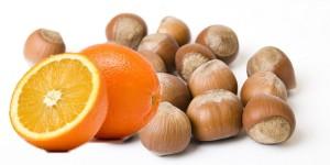 Nalewka na orzechach laskowych + pomarańcza
