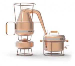 Zestaw do destylacji laureatem konkursu - Copper and the Home 2012