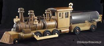 Prezent Lokomotywa + wagon cysterna 500 ml
